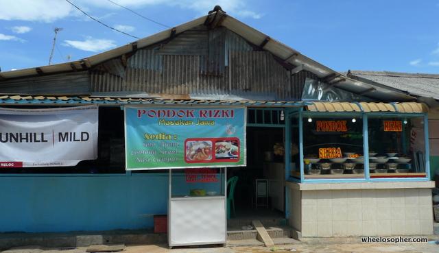 Lunch-stop, Nasi Padang