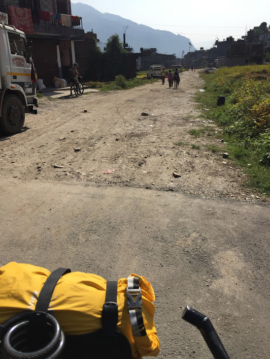 Besisahar-Manang Highway