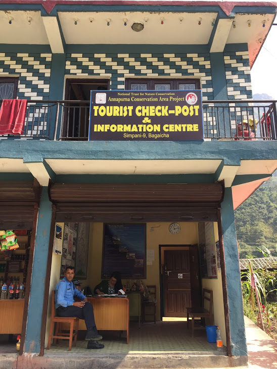 Annapurna Circuit checkpoint