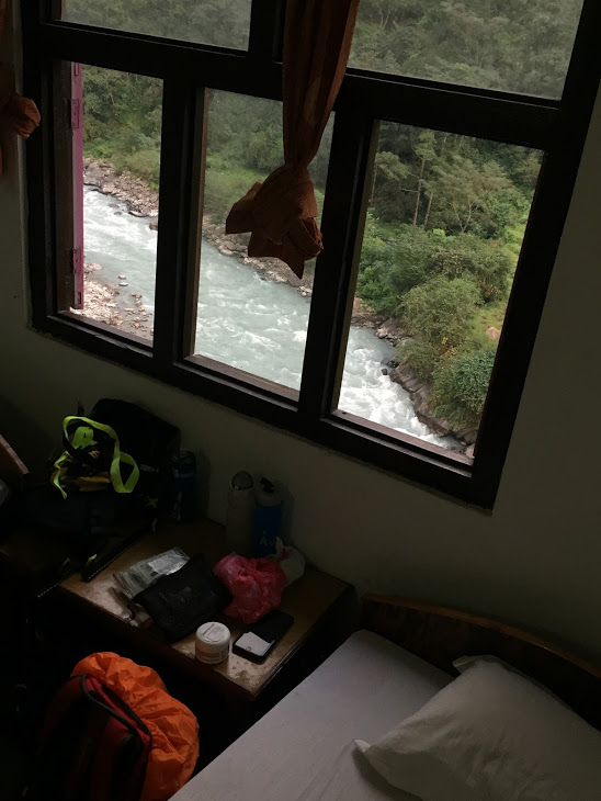 Hotel Blue Sky Syange. Annapurna Circuit