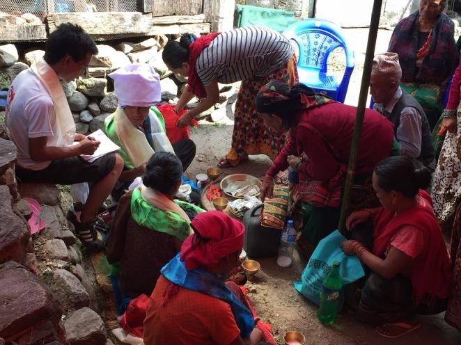 nepalese wedding on annapurna circuit